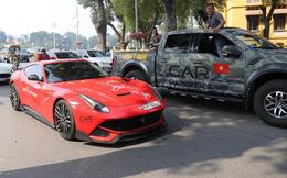 Đường phố Hà Nội huyên náo vì sự trở về của dàn xe Car & Passion