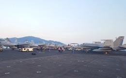 """1 giờ """"la cà"""" trên USS Carl Vinson và cuộc gặp với cô gái Việt phục vụ trên tàu sân bay Mỹ"""