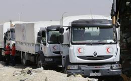 Chưa phát hết hàng hóa, đoàn viện trợ Liên Hợp Quốc vội vã rời Đông Ghouta