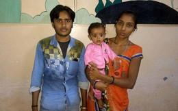 Sốc: Bé gái 7 tháng tuổi mang thai người em song sinh