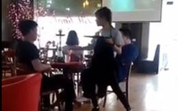 Nhân viên các quán cafe, nhà hàng đua nhau quay clip vừa 'quẩy' vừa phục vu khách hàng