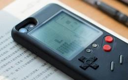 """Xuất hiện ốp lưng iPhone cực """"chất"""": vừa bảo vệ thiết bị, vừa biến thành một cỗ máy Gameboy với 10 tựa game huyền thoại"""