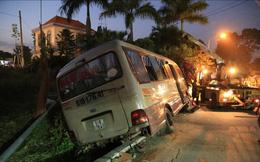 Khởi tố tài xế xe khách tông chết 2 cháu bé ở Bình Dương