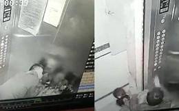 Dư luận dậy sóng trước clip yêu râu xanh bất ngờ tấn công, cưỡng hôn 2 bé gái trong lúc đi cùng thang máy