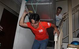 Cháy chung cư Carina ở TP.HCM: Dân sống tạm bợ, vạ vật tầng trệt như người vô gia cư