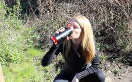 Purisoo: Chiếc bình lọc nước di động giúp bạn uống nước sạch ở bất kỳ nơi đâu trên thế giới