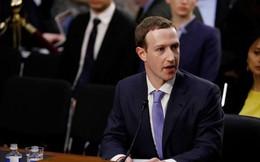 Nhà sáng lập Facebook Mark Zuckerberg điều trần tại Thượng viện Mỹ