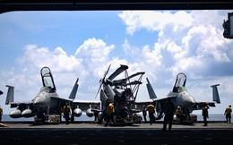 Tàu sân bay Mỹ chạm mặt tàu hải quân Trung Quốc ở Biển Đông