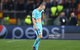 Iniesta nói lời tạ từ Barca sau thất bại tại Champions League?