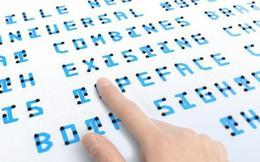 Đây là font chữ kết hợp giữa chữ nổi Braille, các ký tự Latin và tiếng Nhật