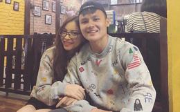 Quang Hải mặc đồ đôi cùng bạn gái Nhật Lê trong ngày sinh nhật