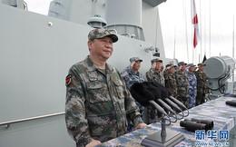 Ông Tập dự duyệt binh trên biển quy mô lớn nhất lịch sử TQ để ra oai với Mỹ, ủng hộ Nga ở Syria?