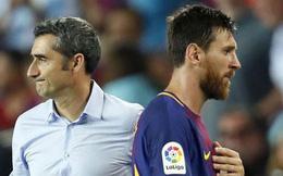 Messi nổi nóng: HLV Valverde có nguy cơ mất việc?