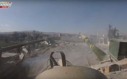 Xem quân đội Syria xung trận đánh gục quân thánh chiến tại chảo lửa Douma