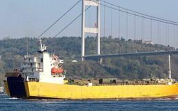 """Rò rỉ ảnh tàu Nga đưa khí tài """"hiếm thấy"""" và """"nhạy cảm"""" tới Syria trong tình hình nóng"""