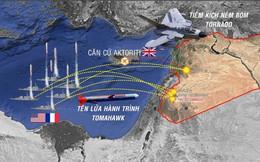 [Infographic] Toàn cảnh cuộc không kích của Mỹ và liên minh nhằm vào Syria ngày 14/4