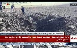 Tận thấy 'hố tử thần' tạo nên bởi tên lửa Mỹ và đồng minh ở Syria