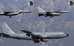 """Lộ diện chiến đấu cơ Mỹ """"sẵn sàng nhả đạn"""" nếu máy bay Nga phản kích vụ tấn công Syria"""