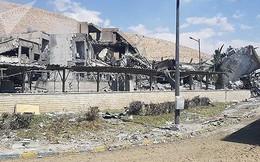 Truyền hình Nga công bố video sân bay Syria sau khi bị bắn phá