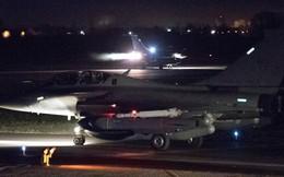 Hình ảnh máy bay chiến đấu Anh, Pháp xuất kích tấn công Syria