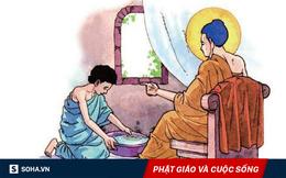 Đức Phật bắt con trai uống nước rửa chân bẩn, lý do đằng sau người làm cha mẹ cần lưu tâm