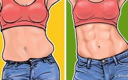 7 động tác loại bỏ mỡ bụng, thon gọn vòng 2 siêu tốc: Ai ngồi nhiều nhất định nên tập!