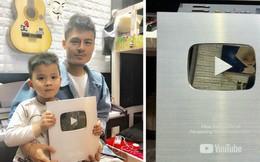 """Hoa Vinh khoe được Youtube trao nút bạc, clip """"khủng"""" nhất có gần 10 triệu lượt xem"""