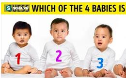 Đứa bé nào là con gái: Chọn số mấy cũng phản ánh con người bạn!