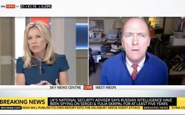 """Phát thanh viên Anh ngắt lời vì khách mời không trả lời đúng """"kịch bản"""" về Syria?"""