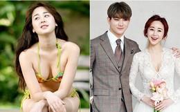 Bị gia đình phản đối, Hoa hậu gợi cảm Hàn Quốc vẫn cưới hot boy đáng tuổi cháu