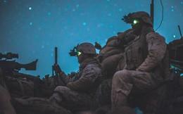 Hé lộ hình ảnh lính Mỹ âm thầm huấn luyện trong đêm