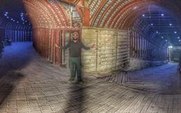 Kinh ngạc trước đường hầm khổng lồ của phe thánh chiến cố thủ Douma, Syria