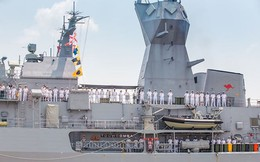 Ba tàu hải quân Australia thăm Việt Nam