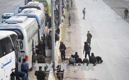 Các tay súng nổi dậy rời khỏi thành trì cuối cùng ở Đông Ghouta