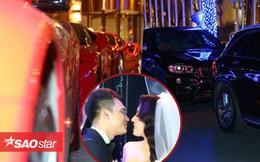 Dàn siêu xe 'khủng' nối đuôi nhau trong đám cưới Khắc Việt ở Hà Nội