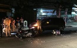 2 xe máy trượt 20 mét ở quận 12 làm 3 người bị thương