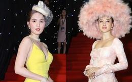 """Ngọc Trinh gợi cảm, Angela Phương Trinh gây sốc với mũ lông """"thảm họa"""""""