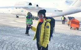 Cô gái Sài Gòn chạy hơn 10 tiếng dưới cái lạnh âm 32 độ ở Bắc Cực