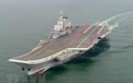 Nhật Bản: Trung Quốc tập trận tàu sân bay đầu tiên tại Thái Bình Dương