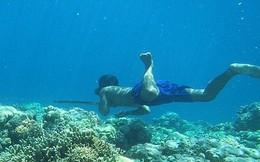 """Tộc """"người cá"""" tiến hóa để lặn sâu tới 70m"""