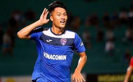 Mạc Hồng Quân ghi bàn may mắn, Than Quảng Ninh bằng điểm Hà Nội FC