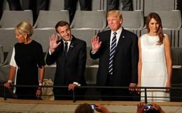 Ông Trump mở tiệc linh đình đãi Tổng thống Pháp tại Nhà Trắng