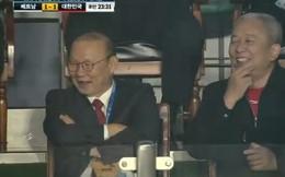 """HLV Park Hang-seo bật cười trước pha bóng """"Bale lai Benzema"""" của sao U19 Việt Nam"""