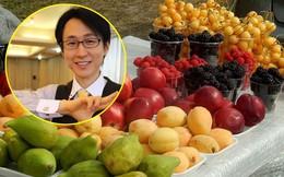 Giáo sư tự nhận là 'siêu nhân' với 8 năm chỉ ăn hoa quả