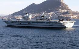 Cận cảnh tàu sân bay mới nhất và mạnh nhất của hải quân Anh