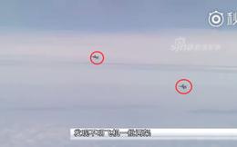 """Quần thảo quanh Đài Loan, máy bay ném bom H-6K của Trung Quốc bị hai máy bay lạ """"hỏi thăm"""""""