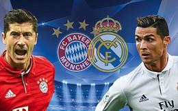 """Bayern - Real Madrid: Thuốc thử liều cao cho """"hùm xám"""" xứ Bavaria"""