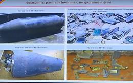 """Nga công bố những hình ảnh đầu tiên về 2 quả tên lửa tối tân tấn công Syria bị """"tóm sống"""""""