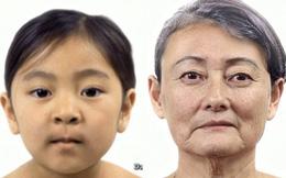 """Video """"nói"""" hết sự thay đổi khuôn mặt người trong suốt cuộc đời"""