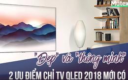 """""""Đẹp"""" và """"thông minh"""" - 2 ưu điểm chỉ TV QLED 2018 mới có"""